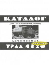 Каталог деталей и сборочных единиц грузовиков Урал 4320
