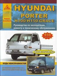 Руководство по ремонту и эксплуатации грузовиков Hyundai Porter / H100 / Н150 / Grace