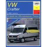Руководство по ремонту и эксплуатации Volkswagen Crafter с 2006 года выпуска.