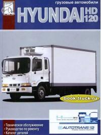 Руководство по ремонту и техническому обслуживанию грузовика Hyundai HD 120