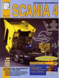 Устройство грузовиков, каталог деталей Scania 94 / 114 / 124 / 144