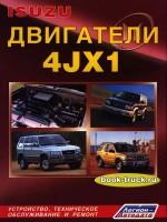 Руководство по ремонту и эксплуатации, техническому обслуживанию двигателей грузовиков Isuzu 4JX1