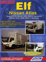 Руководство по ремонту и эксплуатации Isuzu Elf / N-Series / Nissan Atlas с 1993 года выпуска