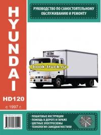 Руководство по эксплуатации, техническому обслуживанию грузовиков Hyundai HD 120