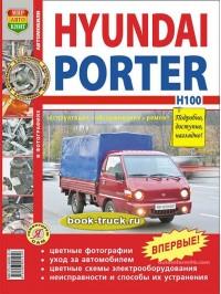 Руководство по ремонту и эксплуатации грузовиков Hyundai Porter / H100 с цветными фотографиями