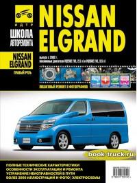 Руководство по ремонту и эксплуатации Nissan Elgrand с 2002 года выпуска