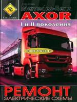 Руководство по ремонту и эксплуатации грузовиков Mercedes Axor c 2001 года выпуска