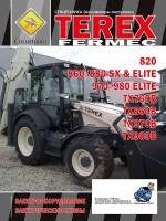 Электрооборудование и электрические схемы Terex Fermec 820, 860 / 880 SX / ELITE, 970/980 ELITE, TX760B, TX860B, TX970B, TX980B