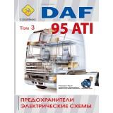Предохранители и электрические схемы грузовиков DAF 95 ATI