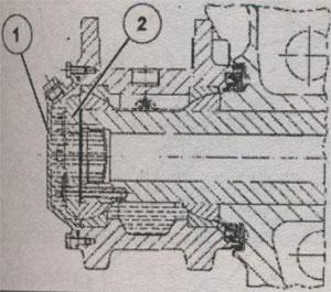 Башмак рессоры MAN L2000
