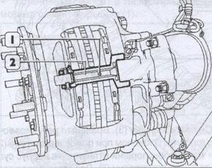 Болт крепления провлдки датчика износа Iveco Stralis