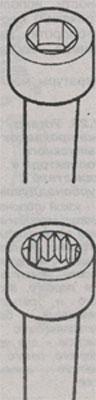 Болты крепления головки блока цилиндров Volkswagen LT