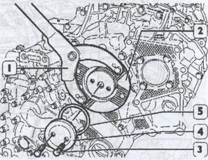 Диск с прокладкой Iveco EuroTrakker