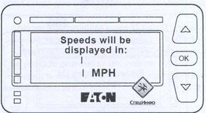 Дисплей Freightliner Cascadia