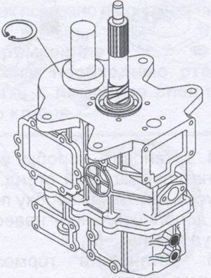 Гайки крепления корпуса коробки передач JAC 1020
