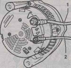Генератор с прикручеиваемой клемой Volkswagen LT 28