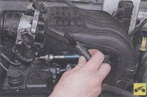 Хомут крепления шланга к системе вентиляции ГАЗ 2705