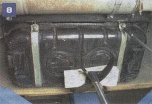 Хомуты топливного бака ГАЗ 33021 ГАЗель