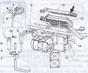 клапан ограничения давления Scania 94