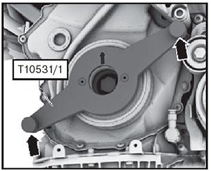 Коленчатый вал VW Transporter T6