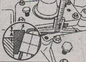 Компенсационная шайба Mercedes Actros