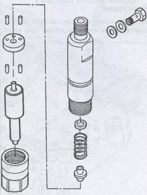 корпус форсунки Iveco TurboStar