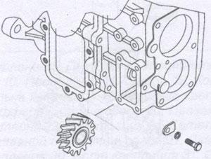 Корпус коробки передач JAC 1020