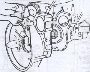 корпус маховика Scania P, корпус маховика Scania R, корпус маховика Scania T