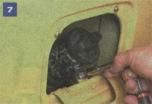 Крепление заливной горловины ГАЗ 33021 ГАЗель