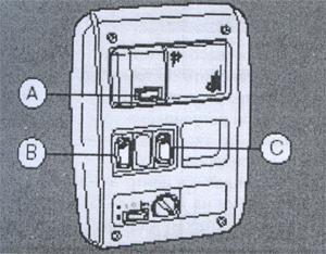 Прикроватные лампочки DAF XF 105