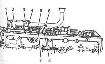 Масляный насос Perkins 1104D-E44TA