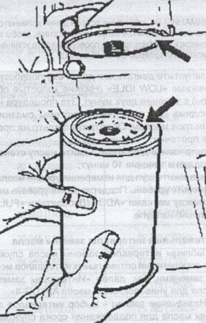 Масляный фильтр Caterpillar