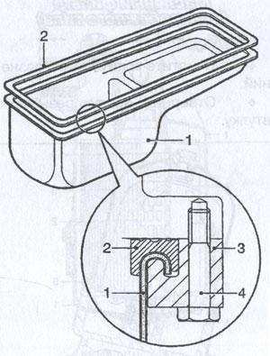 масляный поддон DAF XF95