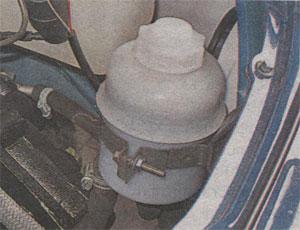 Метки на бачке гидроусилителя ГАЗ 3302