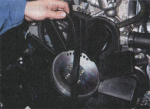 Моторный отсек ГАЗ 3302 ГАЗель