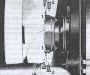муфта вентилятора Mercedes Actros