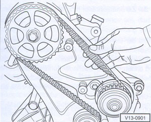 Nockenwellenrad VW Transporter 1990 Delius Klasing
