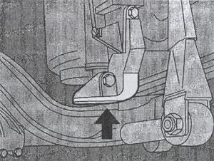 поднятие верхнего моста DAF 95XF