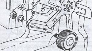 промежуточный шкив Volvo VN, промежуточный шкив Volvo VHD