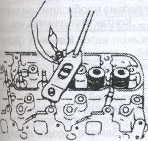 Устройство для сжатия пружины JAC 1045K