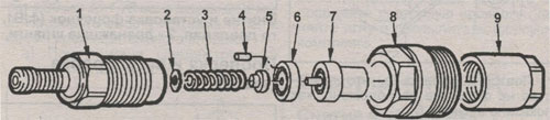 разборка форсунки двигателей Isuzu