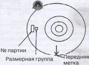 Размерная группа поршня Богдан A-064
