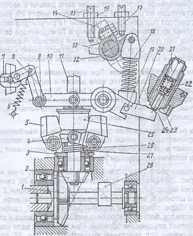 Регулятор топливного насоса Т-40М