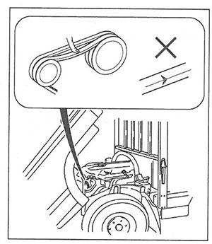 Ремень привода Mitsubishi Fuso Canter