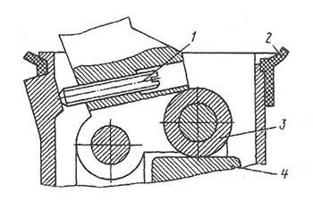 Рычаг тормозного крана КрАЗ 6322