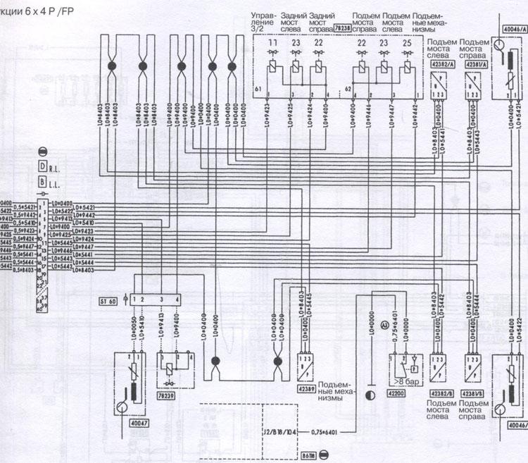 схема Iveco Stralis AT / AD / AS