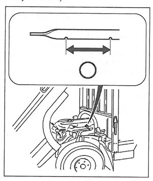 Щуп Mitsubishi Fuso Canter