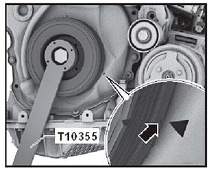 Шкив VW Transporter T6