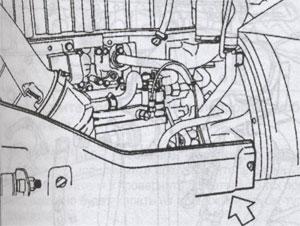 шумоизоляционный экран Volvo FH12