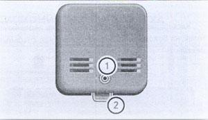 Сигнализатор дыма Mercedes Axor